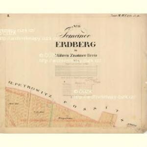 Erdberg - m0892-1-002 - Kaiserpflichtexemplar der Landkarten des stabilen Katasters