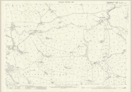 Montgomeryshire V.15 (includes: Llanrhaeadr Ym Mochnant; Llanrhaeadr Ym Mochnant; Minffrwd) - 25 Inch Map