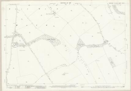 Yorkshire CXXVI.2 (includes: Foxholes; Ganton; Sherburn) - 25 Inch Map