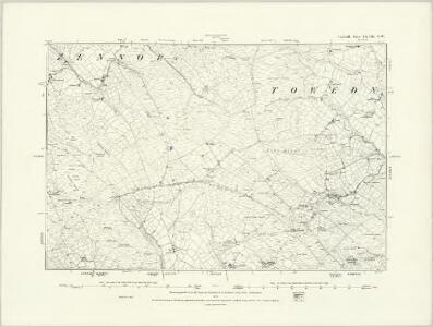 Cornwall LXVIII.SE - OS Six-Inch Map