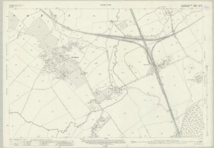 Gloucestershire XXIX.8 (includes: Bledington; Churchill; Idbury; Kingham) - 25 Inch Map
