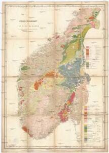 Geologisk oversigtskart over det sydlige Norge