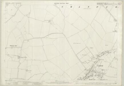 Buckinghamshire XI.5 (includes: Cranfield) - 25 Inch Map