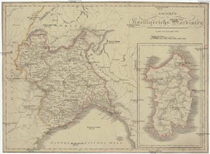 Charte des Koenigreichs Sardinien