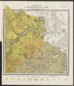 [Geologische Karte der Umgebungen von Möhringen und Mösskirch]