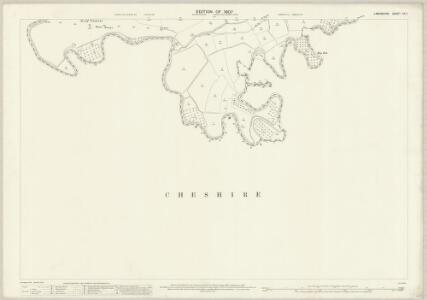 Lancashire CX.7 (includes: Carrington; Flixton; Sale; Urmston) - 25 Inch Map
