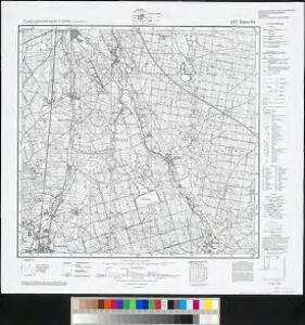 Meßtischblatt 4557 : Rauscha, 1940