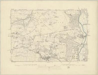 Derbyshire XVI.SE - OS Six-Inch Map
