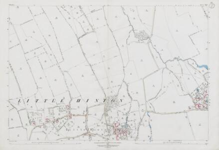 Wiltshire XVI.7 (includes: Bishopstone; Wanborough) - 25 Inch Map