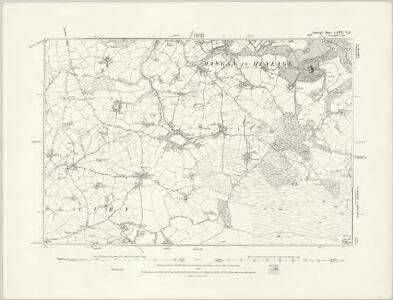 Cornwall LXXX.NW - OS Six-Inch Map
