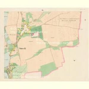 Wossek (Wosek) - c5528-1-009 - Kaiserpflichtexemplar der Landkarten des stabilen Katasters