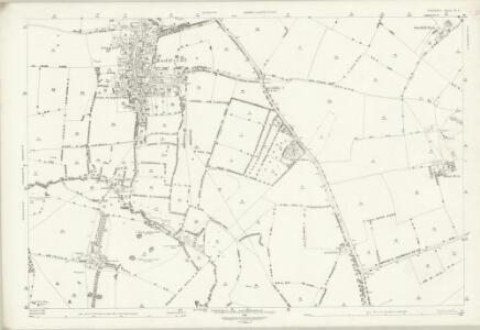 Oxfordshire X.1 (includes: Bloxham; Bodicote; East Adderbury) - 25 Inch Map