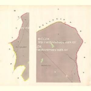 Tschimischl (Třzemesset) - m3156-1-002 - Kaiserpflichtexemplar der Landkarten des stabilen Katasters