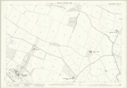 Gloucestershire XIII.8 (includes: Buckland; Dumbleton; Stanton; Toddington) - 25 Inch Map