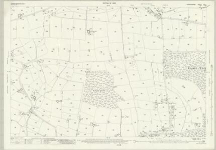 Warwickshire XXI.9 (includes: Allesley; Berkswell; Coventry) - 25 Inch Map