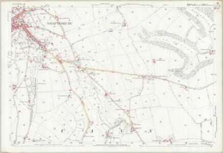 Wiltshire LXVIII.16 (includes: Cann; Donhead St Mary; Shaftesbury) - 25 Inch Map