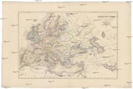 Uebersichts-Karte für die Geschichte vom Ende der Kreuzzüge bis zur Reformation