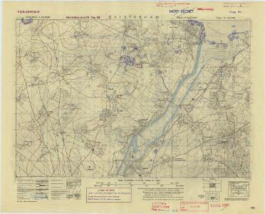 France, 1:25,000, GSGS 4347 [Defence O/P], Ouistreham