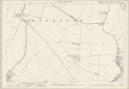 Yorkshire CCLIII.15 (includes: Adlingfleet; Eastoft; Eastoft; Fockerby; Haldenby; Luddington) - 25 Inch Map