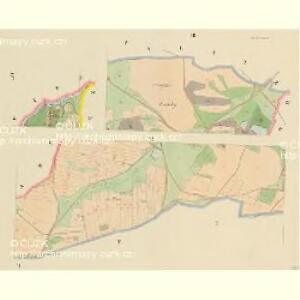 Klein Bor (Maljbor) - c4449-1-003 - Kaiserpflichtexemplar der Landkarten des stabilen Katasters