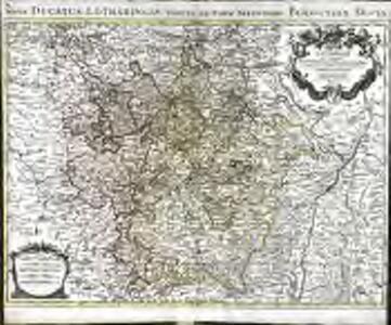 La Lorraine qui comprend les duchés de Lorraine et de Bar et les balliages des eveschés et des villes de Metz, Toul et Verdun