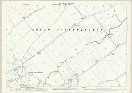 Lincolnshire XLVIII.12 (includes: Grimoldby; North Cockerington; South Cockerington) - 25 Inch Map