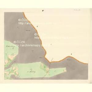 Ober Beczwa (Horny Bečwa) - m0763-1-004 - Kaiserpflichtexemplar der Landkarten des stabilen Katasters