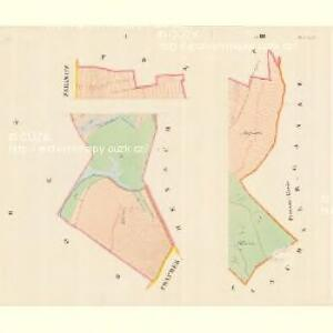 Dluhonitz (Dluhonice) - m0456-1-002 - Kaiserpflichtexemplar der Landkarten des stabilen Katasters