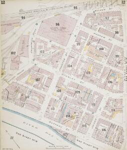 Insurance Plan of Sheffield (1896): sheet 12