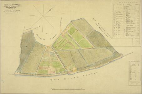 PLAN OF an ESTATE SITUATE AT MILLBANK WESTMINSTER belonging to THE MARQUIS OF SALISBURY.