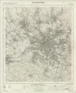 Manchester - OS One-Inch Map