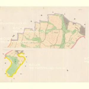 Podmokl (Podmok) - c5911-1-001 - Kaiserpflichtexemplar der Landkarten des stabilen Katasters