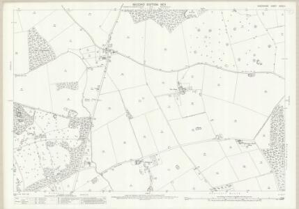 Shropshire XXVIII.4 (includes: Grinshill; Hadnall; Shawbury) - 25 Inch Map