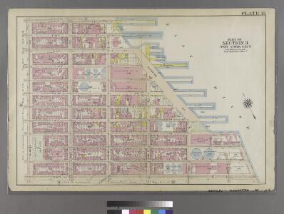 [Plate 15: Bounded by [Plate 32: Bounded by E. 25th Street, Exterior Street [East River], Avenue C, E. 14th Street, and Second Avenue.]
