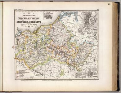 Mecklenburg, Schwerin, Strelitz Grossherzogthumer.