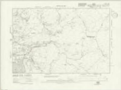 Caernarvonshire XXXVI.NE - OS Six-Inch Map
