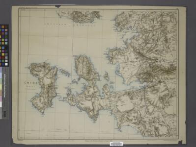 Sheet 7. 1: 250,000. / dressée par Henri Kiepert d'après ses propres observations et d'autres levées pour la plupart inédites = Map of the western part of Asia Minor