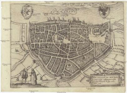 Novimagiv[m], sive Noviom Agvm vulgo Nijmmegen incliita quon dam Francoru[m] regia urbs Gelriae prima