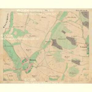 Weichseln - c8980-1-008 - Kaiserpflichtexemplar der Landkarten des stabilen Katasters
