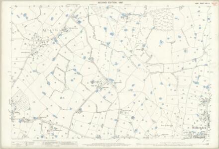 Kent LXIII.14 (includes: Biddenden) - 25 Inch Map