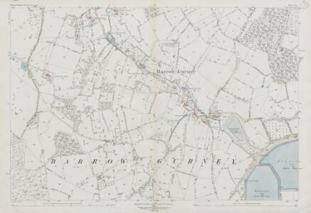 Somerset V.16 (includes: Barrow Gurney; Flax Bourton; Long Ashton) - 25 Inch Map