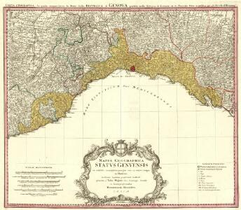 Mappa Geographica Statvs Genvensis