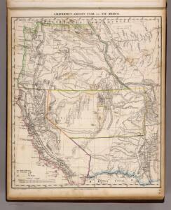 Californien, Oregon, Utah, Neu-Mejico.