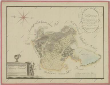 Mapa pozemků dvora Dehetník 1