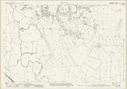 Derbyshire LII.3 (includes: Doveridge; Somersal Herbert; Uttoxeter) - 25 Inch Map