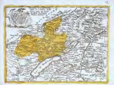 Neufchastel, oder souveraines Fürstenthum Neüenburg in Schweizerischen Bund, nebst der Graffschafft Valangin