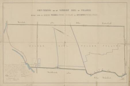 Waterschap Snel en Polanen, gemeente Woerden en Linschoten (U.).