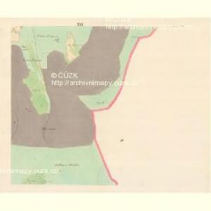 Lomna (Lomno) - m0508-1-015 - Kaiserpflichtexemplar der Landkarten des stabilen Katasters