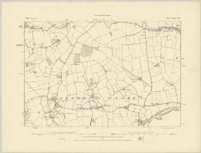 Suffolk LXXI.SW - OS Six-Inch Map
