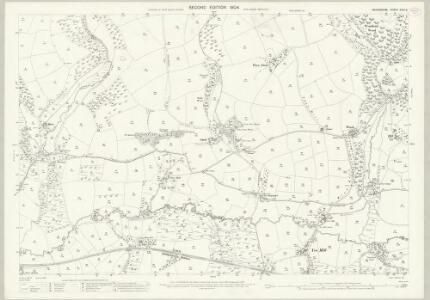 Devon XXIII.2 (includes: East Anstey; Molland; West Anstey) - 25 Inch Map